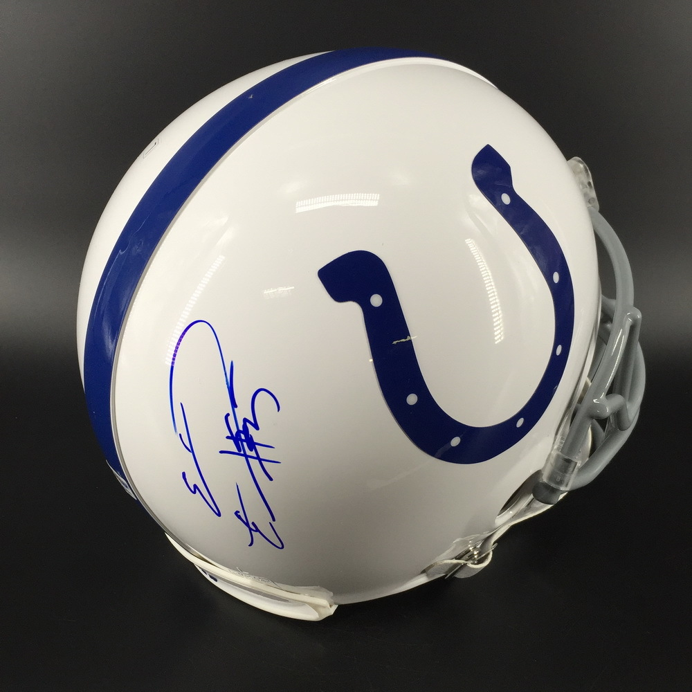 NFL - Colts Eric Ebron Signed Proline Helmet
