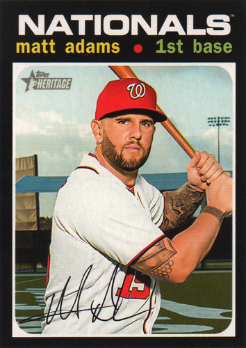 Photo of 2020 Topps Heritage #48 Matt Adams