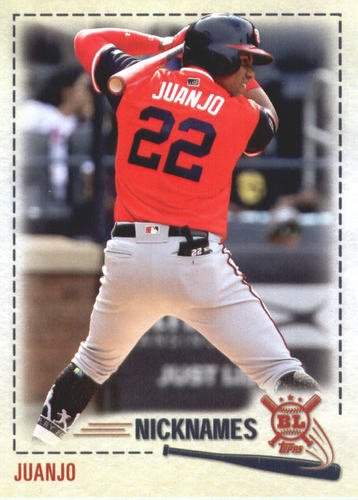 Photo of 2019 Topps Big League Players Weekend Nicknames #PW14 Juan Soto