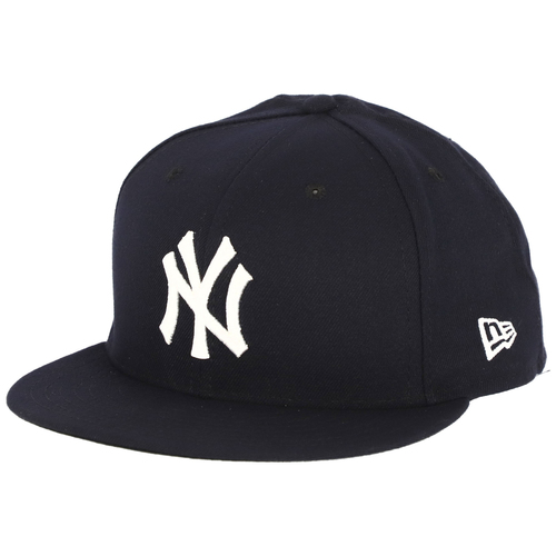Photo of Jonathan Holder New York Yankees Game-Used #56 Navy Opening Day Cap vs. Baltimore Orioles on March 28, 2019 - Size 7 3/8