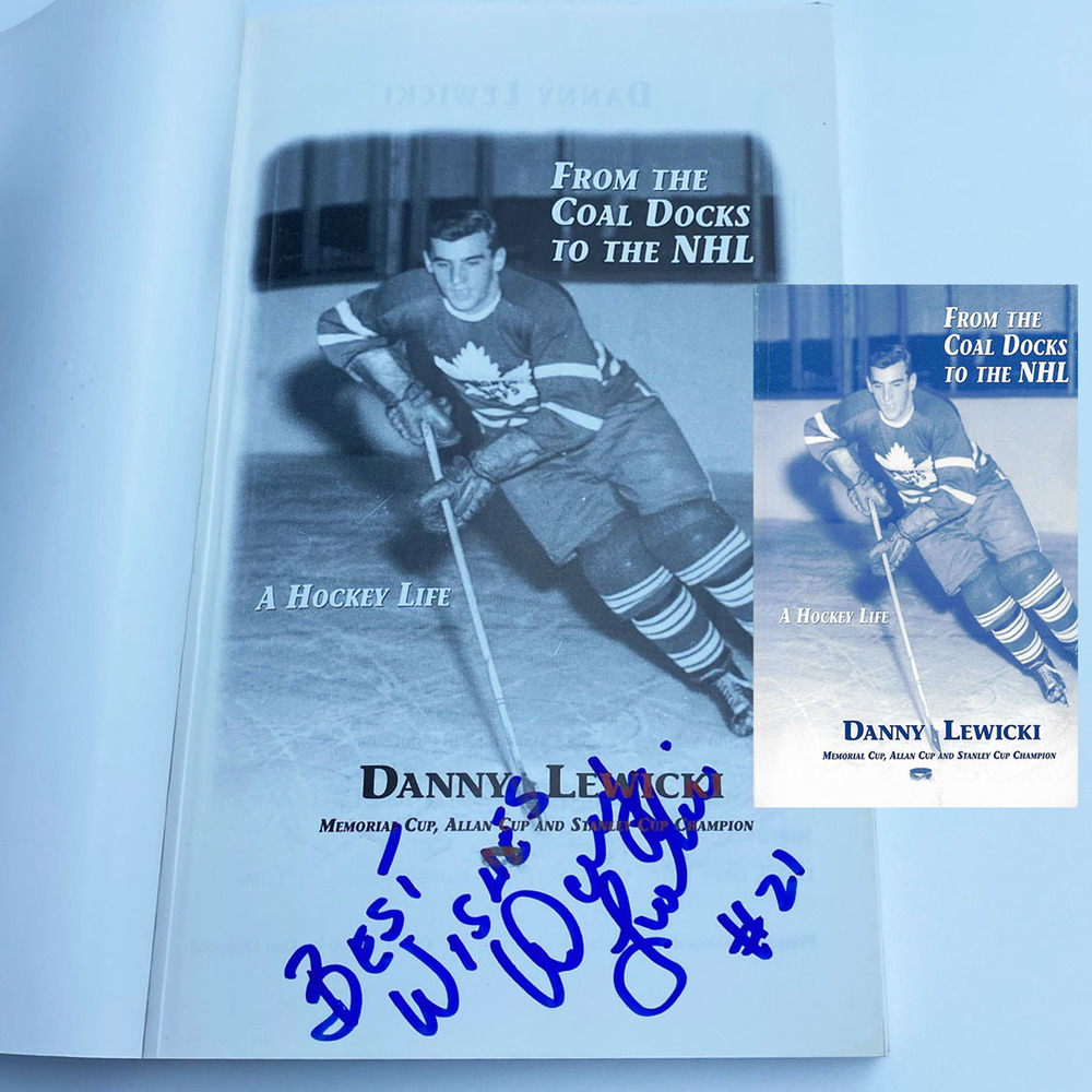 Danny Lewicki Autographed Softcover Book - From the Coal Docks to the NHL