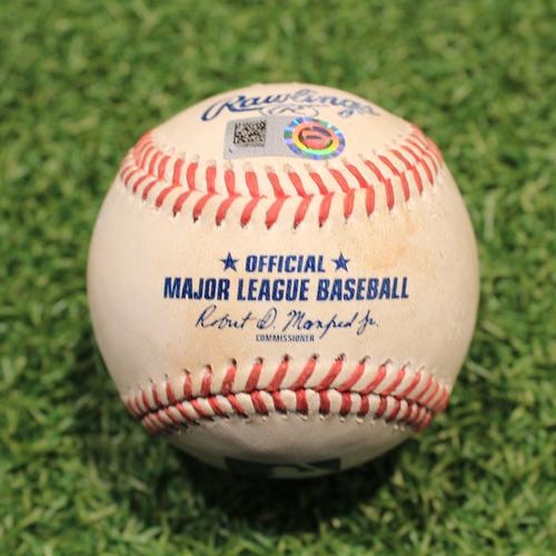 Photo of Game-Used Baseball: Paul Goldschmidt 1514th Career Hit (STL@KC 8/13/21)