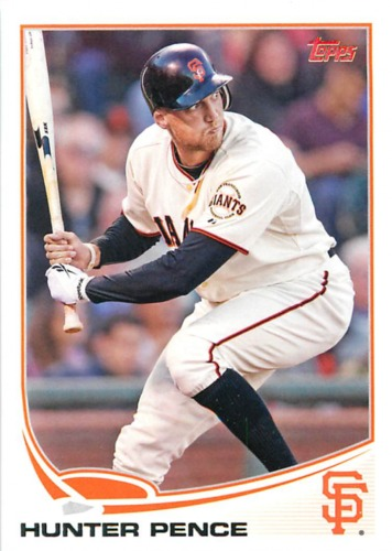 Photo of 2013 Topps #3 Hunter Pence