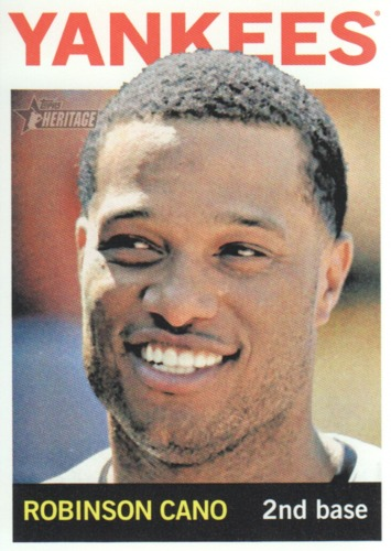 Photo of 2013 Topps Heritage #100A Robinson Cano