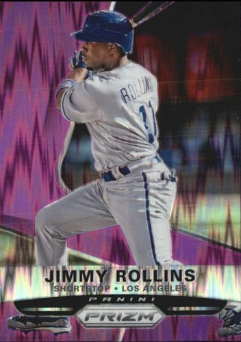 Photo of 2015 Panini Prizm Prizms Purple Flash #84 Jimmy Rollins