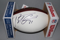 DOLPHINS - BRENT GRIMES SIGNED PANEL BALL