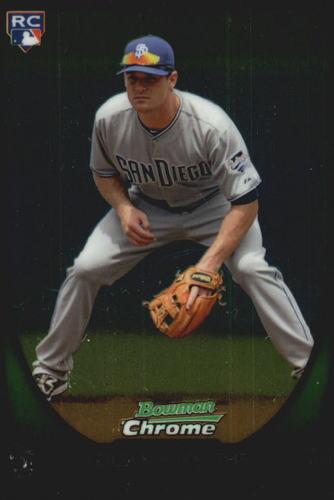 Photo of 2011 Bowman Chrome Draft #34 Logan Forsythe Rookie Card