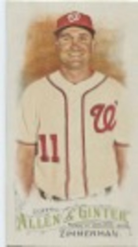 Photo of 2016 Topps Allen and Ginter Mini #344 Ryan Zimmerman