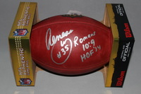 HOF - RAMS AENEAS WILLIAMS SIGNED AUTHENTIC FOOTBALL