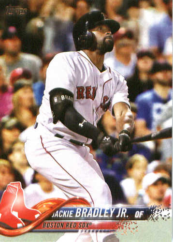 Photo of 2018 Topps #270 Jackie Bradley Jr.