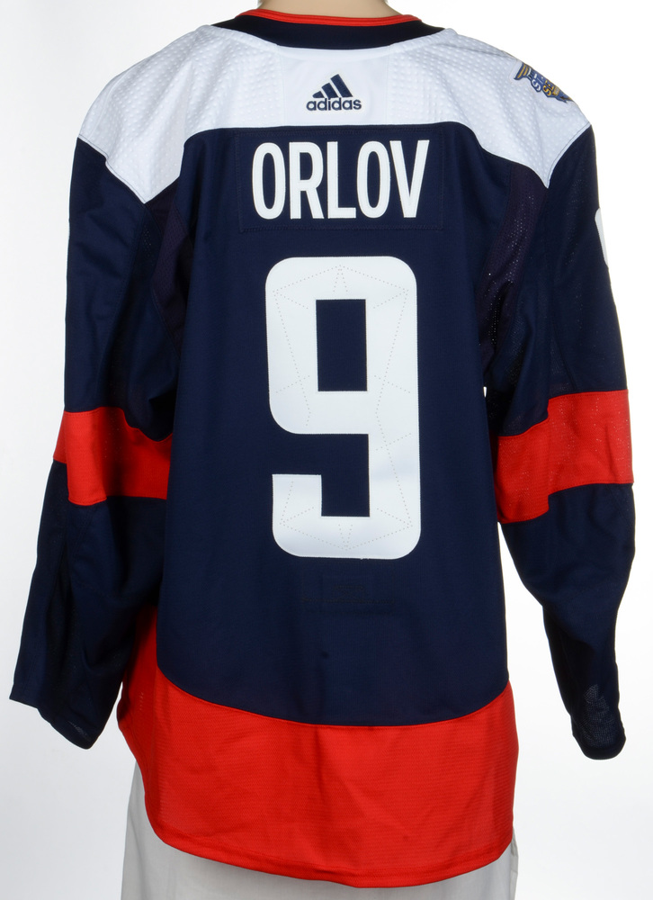Dmitry Orlov Washington Capitals Game-Worn 2018 NHL Stadium Series Jersey