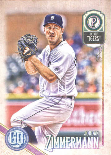 Photo of 2018 Topps Gypsy Queen #109 Jordan Zimmermann