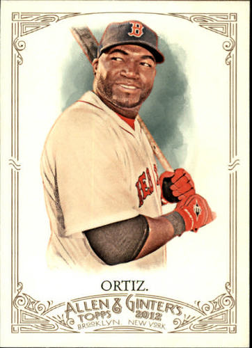 Photo of 2012 Topps Allen and Ginter #35 David Ortiz