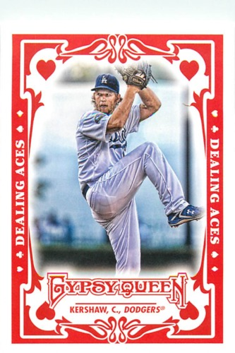Photo of 2013 Topps Gypsy Queen Dealing Aces #CK Clayton Kershaw