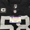 NFL - London Games Raiders Kyle Wilber Game Used Jersey W/ Captains Patch VS. Seahawks (October 14th 2018 size 44)
