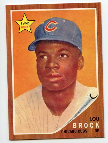 Photo of 2016 Topps Berger's Best Series 2 #BB21962 Lou Brock