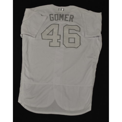 "Photo of Eric ""Gomer"" Lauer San Diego Padres Game-Used 2019 Players' Weekend Jersey"
