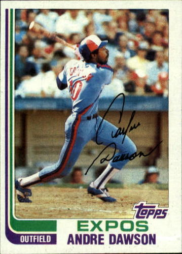 Photo of 1982 Topps #540 Andre Dawson