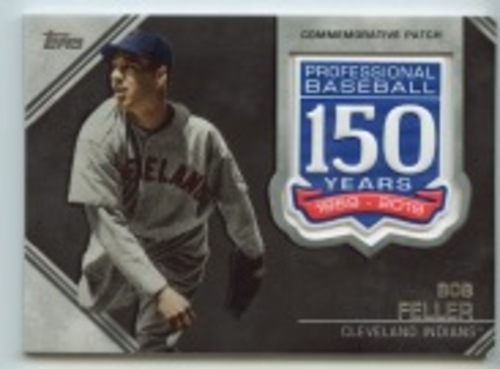 Photo of 2019 Topps Update 150th Anniversary Manufactured Patches #AMPBF Bob Feller