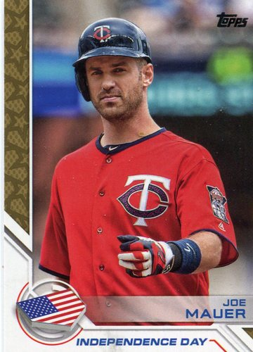 Photo of 2017 Topps Independence Day #ID28 Joe Mauer