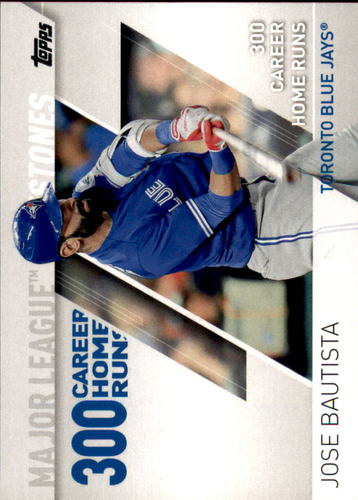 Photo of 2017 Topps Major League Milestones #MLM5 Jose Bautista