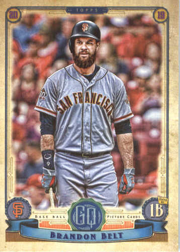 Photo of 2019 Topps Gypsy Queen #46 Brandon Belt