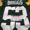 PCF - Packers Diyral Briggs Signed Game Issued Super Bowl XLV Jersey