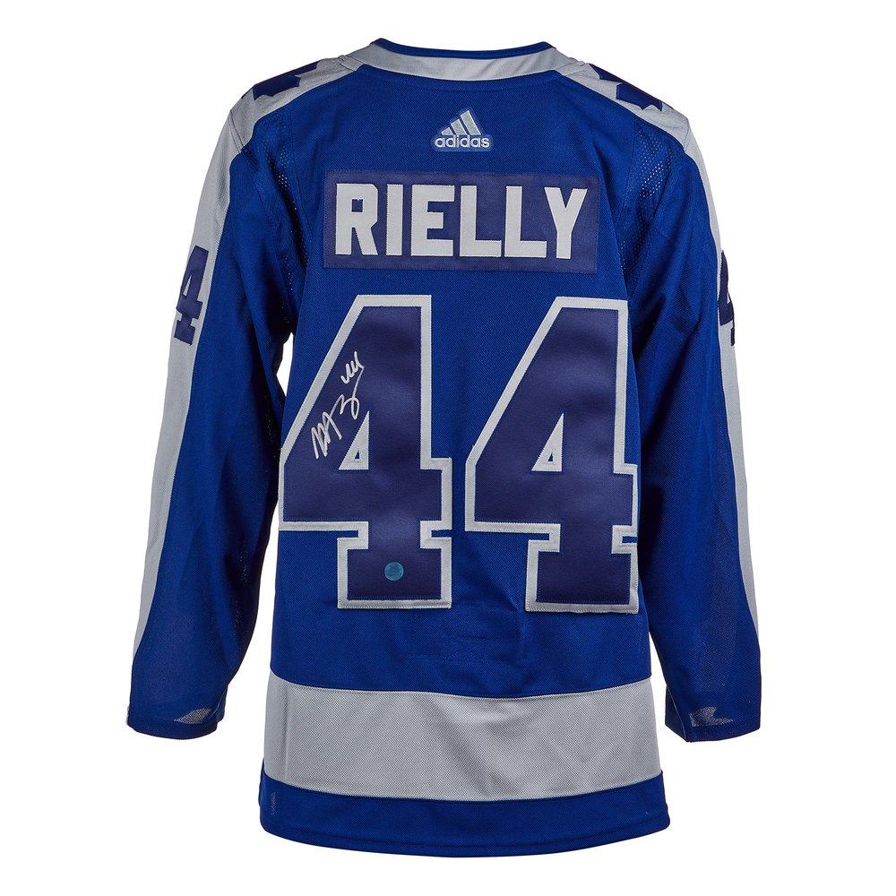 Morgan Rielly Toronto Maple Leafs Signed Reverse Retro Adidas Jersey