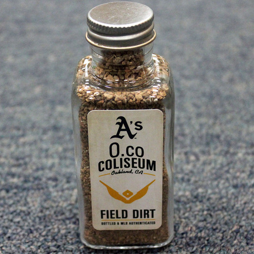 Photo of Game-Used Dirt Bottle