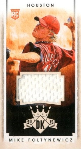 Photo of 2015 Diamond Kings DK Minis Materials #175 Mike Foltynewicz/99
