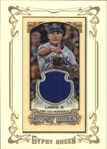 Photo of 2014 Topps Gypsy Queen Framed Mini Relics #GMRBL Brett Lawrie