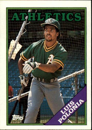 Photo of 1988 Topps #238 Luis Polonia RC