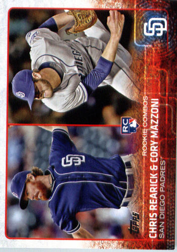 Photo of 2015 Topps Update #US194 Chris Rearick RC/Cory Mazzoni RC