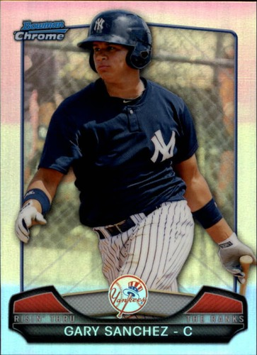 Photo of 2013 Bowman Chrome Rising Through the Ranks Mini #GS Gary Sanchez