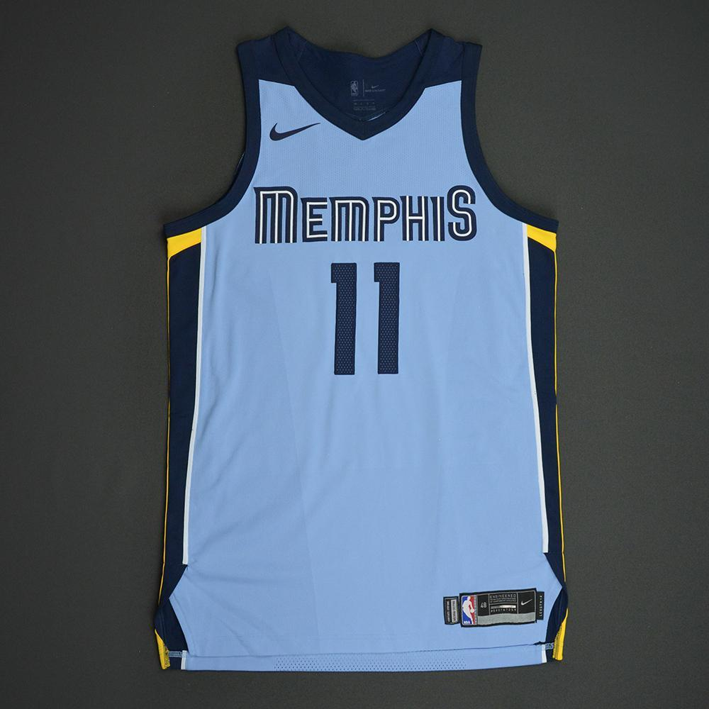95247b8fe Mike Conley - Memphis Grizzlies - Statement Game-Issued Jersey - 2017-18  Season