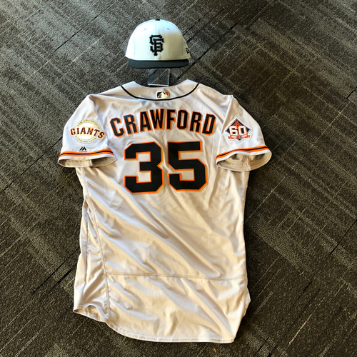 hot sale online b60ab 9aa0c Giants Auctions | San Francisco Giants - Game Used Father's ...