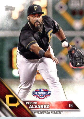 Photo of 2016 Topps Opening Day #OD180 Pedro Alvarez