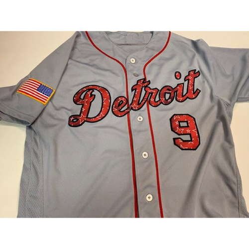 Photo of Game-Used Stars and Stripes Jersey: Nicholas Castellanos