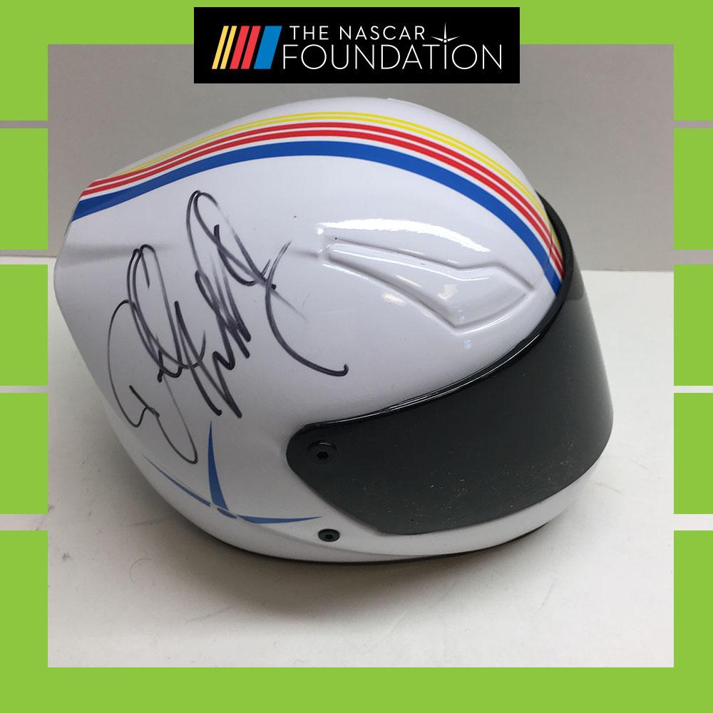 NASCAR's Bubba Wallace Autographed Mini-Helmet!