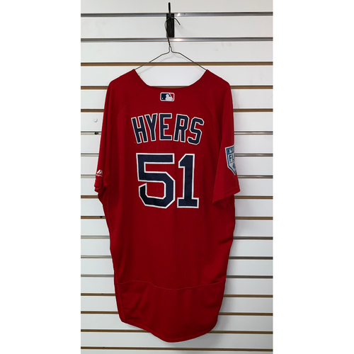 Photo of Tim Hyers team issued 2019 Spring Training Jersey