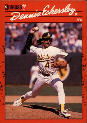 Photo of 1990 Donruss #210 Dennis Eckersley