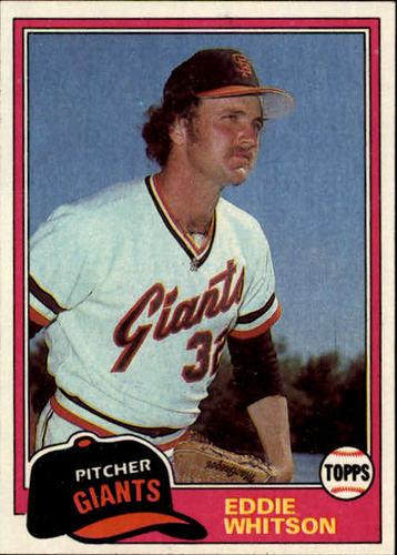 Photo of 1981 Topps #336 Eddie Whitson