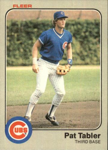 Photo of 1983 Fleer #509 Pat Tabler