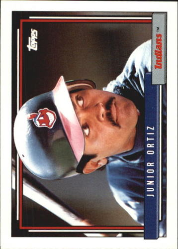 Photo of 1992 Topps Traded #84T Junior Ortiz