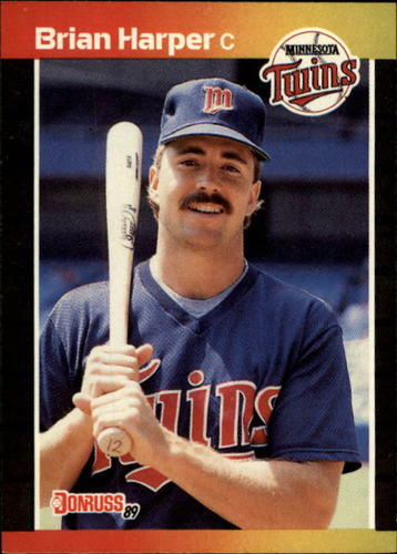 Photo of 1989 Donruss #641 Brian Harper