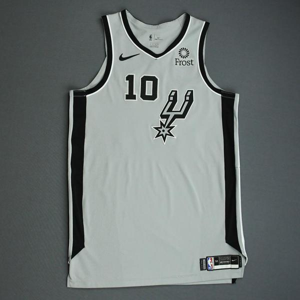 Image of DeMar DeRozan - San Antonio Spurs - Game-Worn Statement Edition Jersey - NBA Mexico Games - 2019-20 NBA Season