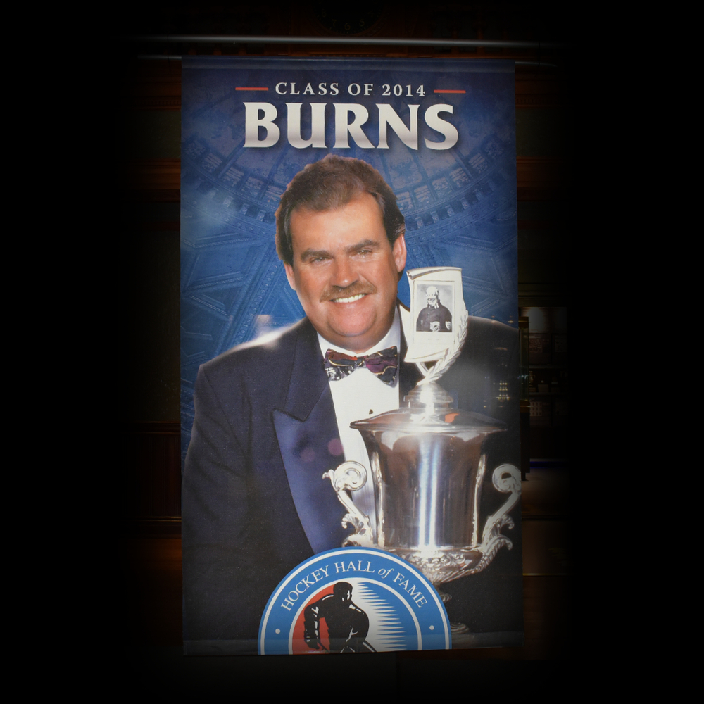 Pat Burns Hockey Hall of Fame Class of 2014 Banner (5ft x 9ft) - Limited Edition 1/1