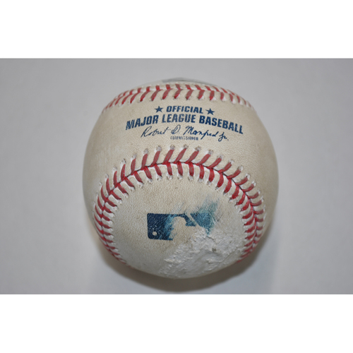 Photo of Game-Used Baseball - STL vs. PIT - 9/19/2020 - Pitcher - Kwang Hyun Kim - Batter - Jose Osuna, Bot 3, Home Run