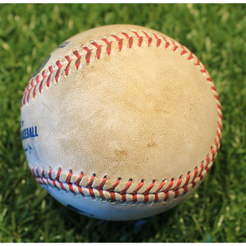 Photo of Game-Used Baseball: Jonathan Davis 29th Career Hit (TOR @ KC 4/17/21 Game 1)