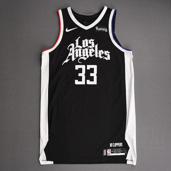 Image of Nicolas Batum - Los Angeles Clippers - Game-Worn City Edition Jersey - 2021 NBA Playoffs